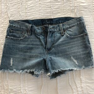 Distressed Lucky Brand Denim Shorts